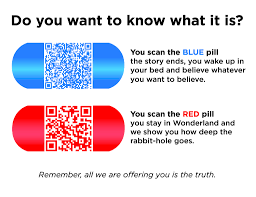 Blue Pill Red Pill Meme - occupy boston flyer red pill know your meme