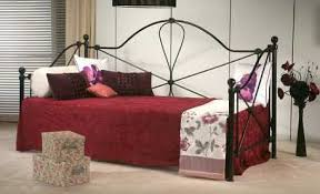 dreamland zen ivory metal bed frame the world of beds