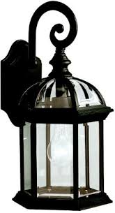 Kichler Outdoor Wall Sconce Kichler 9735bk One Light Outdoor Wall Mount Wall Porch Lights