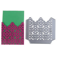 envelope border pattern envelope border metal dies cutting decoration scrapbooking craft die