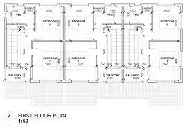 triplex house plans floor plans u2013 housingdominica com