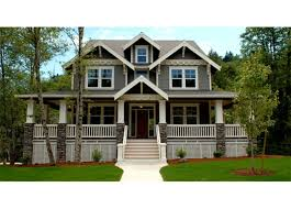 bungalow house plans with front porch craftsman front elevation plan 509 35 houseplans com front