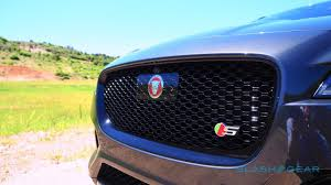 jaguar grill 2017 jaguar f pace first drive u2013 clever kitty slashgear
