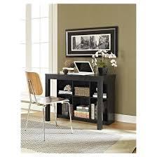 parsons desk with cubbies black altra target