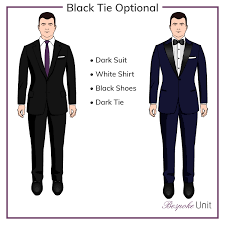 black tie attire black tie optional what does it what can i wear
