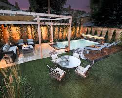 Pools Small Backyards by Pools Small Backyards Pool Modern With Gray Fence Contemporary