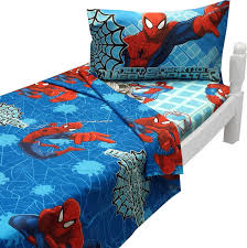 Marvel Double Duvet Cover Ultimate Spider Man Twin Sheet Set Marvel Bedding Contemporary