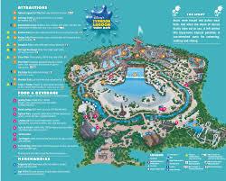 disney park maps disney s typhoon lagoon water park map