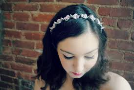 spiked headband stylenoted diy floral studded headband