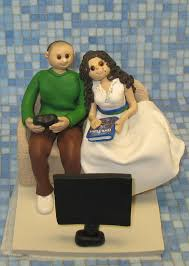 gamer cake topper a wedding for gamers themed weddings ewedding