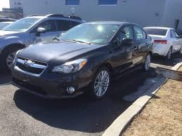 pre owned 2013 subaru impreza limited model blow out price in
