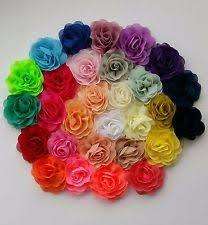 Fabric Flowers Fabric Flowers Ebay