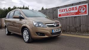 used vauxhall zafira design for sale motors co uk