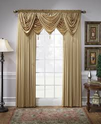 Marburn Curtain Stores Concord Satin Panel Waterfall Valance With Tassel U2013 Marburn Curtains