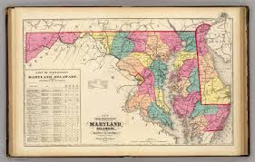 map of maryland to print new railroad map of the states of maryland delaware district