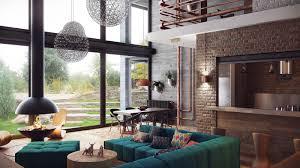 accessories elegant living room decoration using blue white