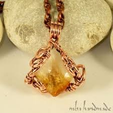 Sample Rustic Copper Linear Natural by Flower Necklace Metal Daisy Flower Pendant Natural Copper Or