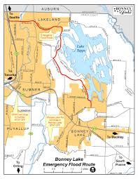 Truck Route Maps City Of Bonney Lake Business Section Maps