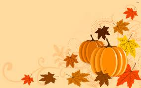 cartoon thanksgiving wallpaper fall pumpkin desktop backgrounds fall leaves with pumpkins