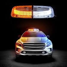 amber strobe lights for trucks zento deals dual color amber white 240 led snow plow safety strobe