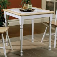 coaster dining table in natural white local furniture outlet
