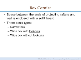 Type Of Cornice Chapter 16 Roof Designs Chapter 16 Roof Designs Ppt Video