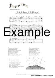 christmas carols sheet music and colouring pages