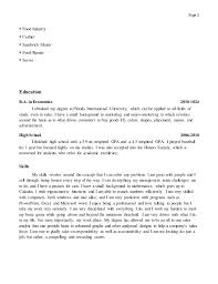 Food Industry Resume Dspace Mit Thesis Essay Emotions Strengths Weakness Human