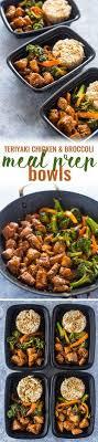 Dans La Cuisine De L Idée Du Week Meal Prep Teriyaki Chicken And Broccoli Meal Prep For The Week