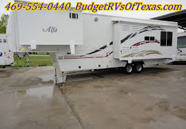 2007 alfa 5th wheel travel trailer that is perfect for the full