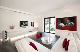 Red And Black Living Room Decor Download White And Red Living Room Ideas Home Intercine