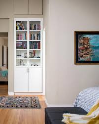 photos hgtv contemporary white bookshelf with glass door cabinets