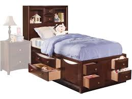 acme furniture youth manhattan full bed with storage 04085f hi