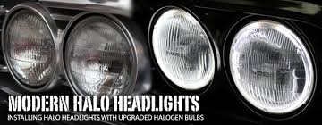 hid lights for classic cars ground up lights the way with modern halo headlights chevy