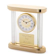 anniversary clock gifts 1st wedding anniversary gifts at things remembered