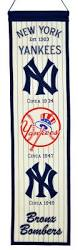 New York Yankees Home Decor New York Yankees Heritage Banner 46013 27 99 Teams And