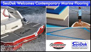 seadek marine products welcomes contemporary marine flooring to