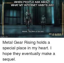 Metal Gear Rising Memes - 25 best memes about metal gear rising metal gear rising memes