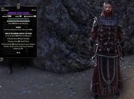 elder scrolls online light armor sets one tamriel gear sets deltia s gaming