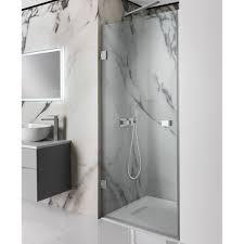 Shower Hinged Door Simpsons Zion 10mm Hinged Shower Door Optional Side Panel