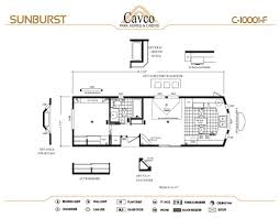 cavco sunburst park models the finest quality park models and c 10001 d floor plan