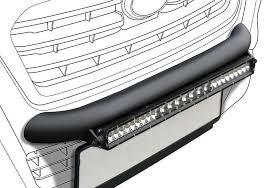 roof rack emergency light bar nissan navara 2016 wilderness lighting bumper mount led light bar