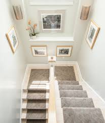 decorate stairway wall decorating idea inexpensive fancy and