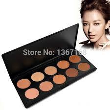 aliexpress new 10 colors professional brand kryolan makeup concealer palette face care primer makeup tools face