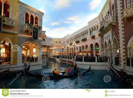 Venetian Hotel Map Grand Canal Shoppes At Venetian Hotel Las Vegas Editorial Stock