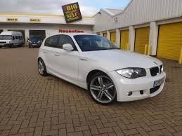 white bmw 1 series sport used 2010 bmw 1 series hatchback 123d m sport diesel for sale in