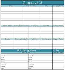 diet planner template meal plan with grocery list grocery list template 1000 images about grocery list meal planning on pinterest