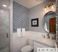 wallpaper bathroom designs small bathroom design ideas