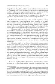 Cnd 181 3 A Military Perspective On Cyberattack Technology Policy Law