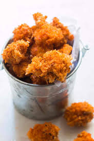 kfc style spicy popcorn chicken my food story